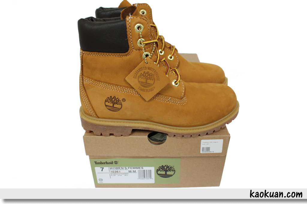 Timberland Womnen Waterproof Boot 10361 女鞋 黃靴