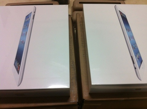 The new ipad到貨