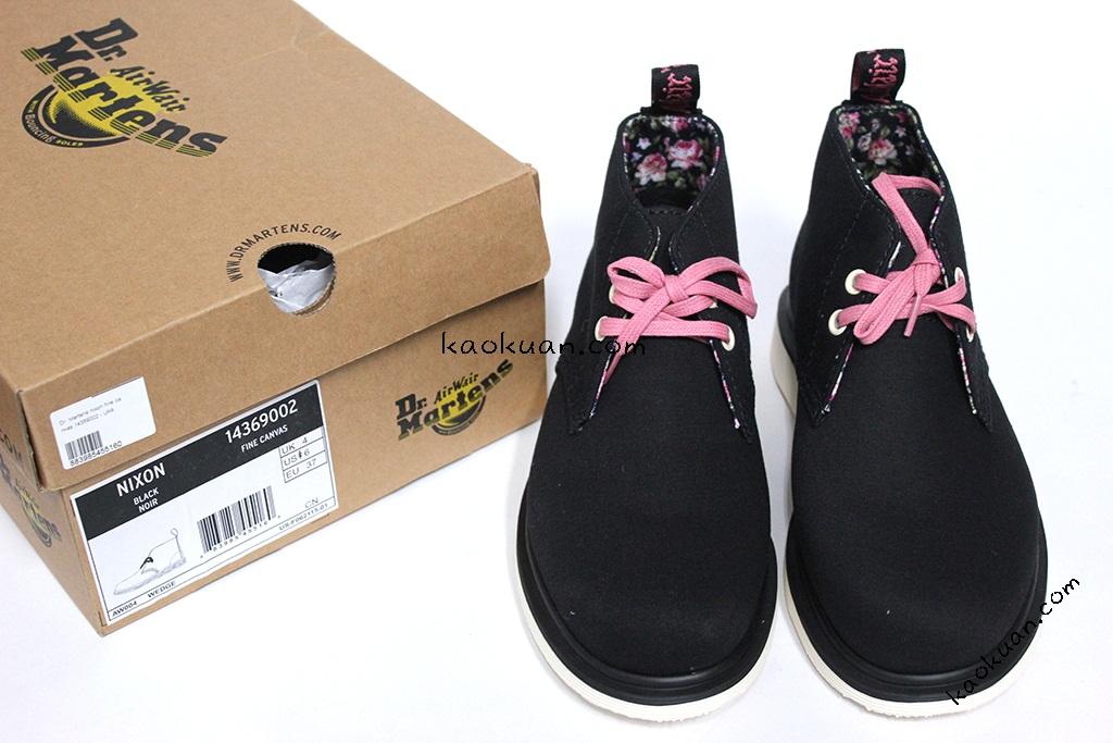 Dr Martens Nixon Boot 14369002 細帆布 花 沙漠靴