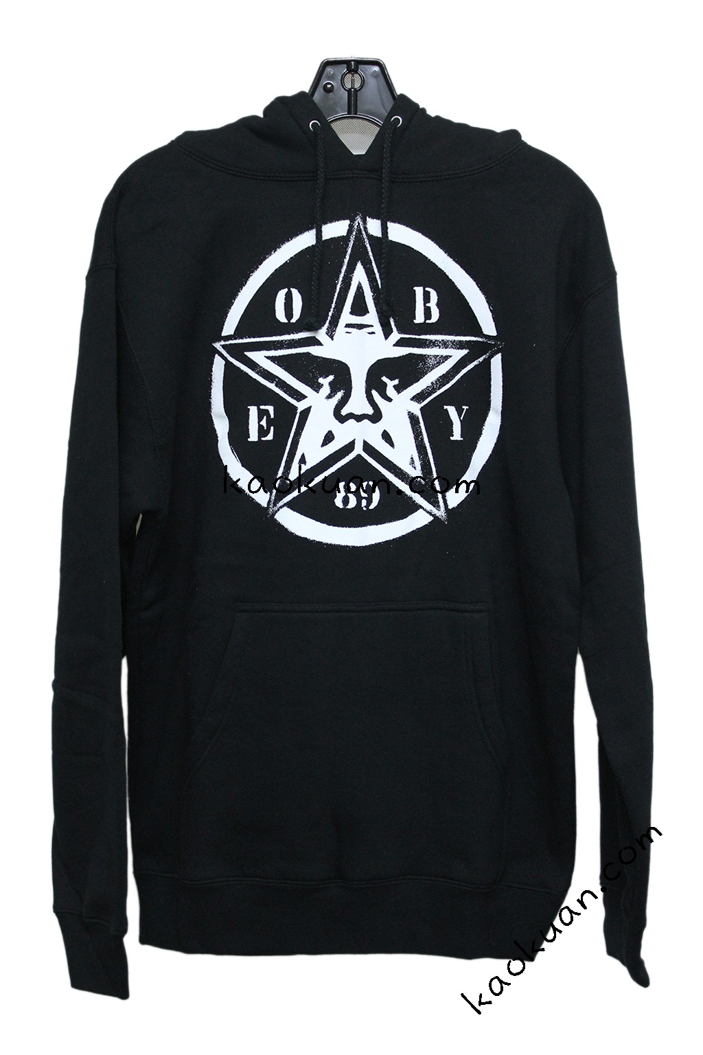 Obey icon basic logo star stencil hoodie 黑 帽 Tee