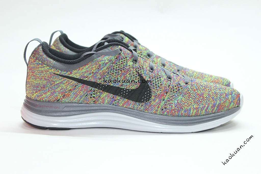 Nike Flyknit Lunar One+ Multi Color 彩色 編織 網面 輕量化 554887-004