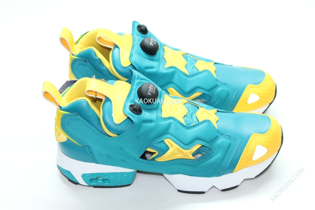 REEBOK INSTA PUMP FURY MARVEL HERO HULK 綠巨人 綠黃 V53779 男鞋