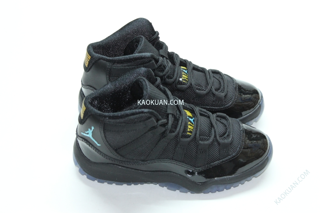 Nike Air JORDAN 11 RETRO (PS) GAMMA BLUE 11代 AJ11 復刻 黑藍 童鞋 378039 006