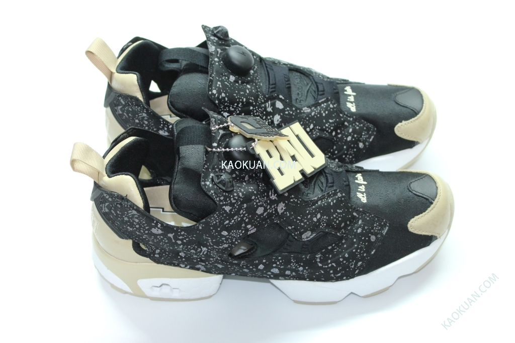全新 現貨 REEBOK PUMP FURY BAU OG FRANK THE BUTCHER 3M 反光 黑 金 M40925