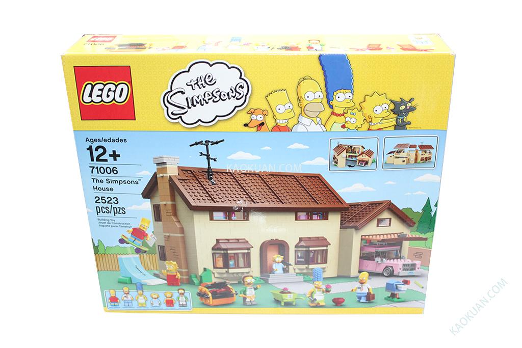 LEGO 樂高 71006 辛普森 家庭系列 The Simpsons House 現貨 原盒未拆