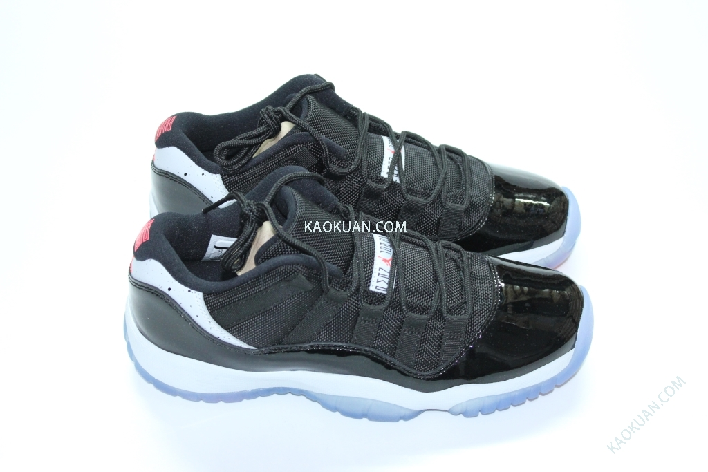 NIKE AIR JORDAN 11 RETRO INFRARED 23 AJ11 黑灰 黑白灰 紅外線 低筒 女鞋 528896-023