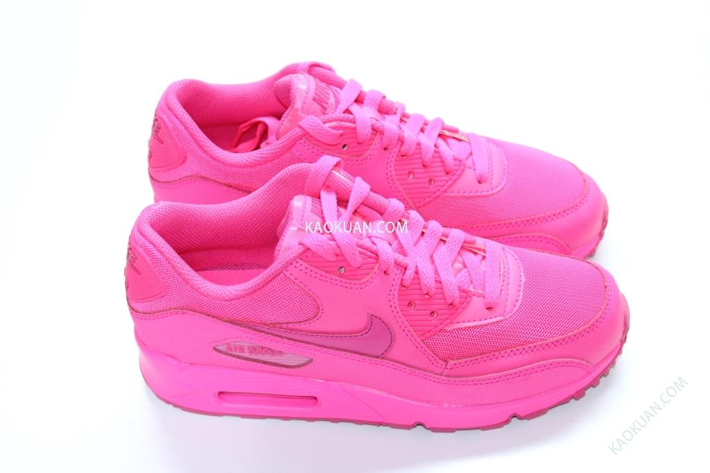 Nike Air Max 90 2007 GS Hyper Pink Vivid Pink 桃紅