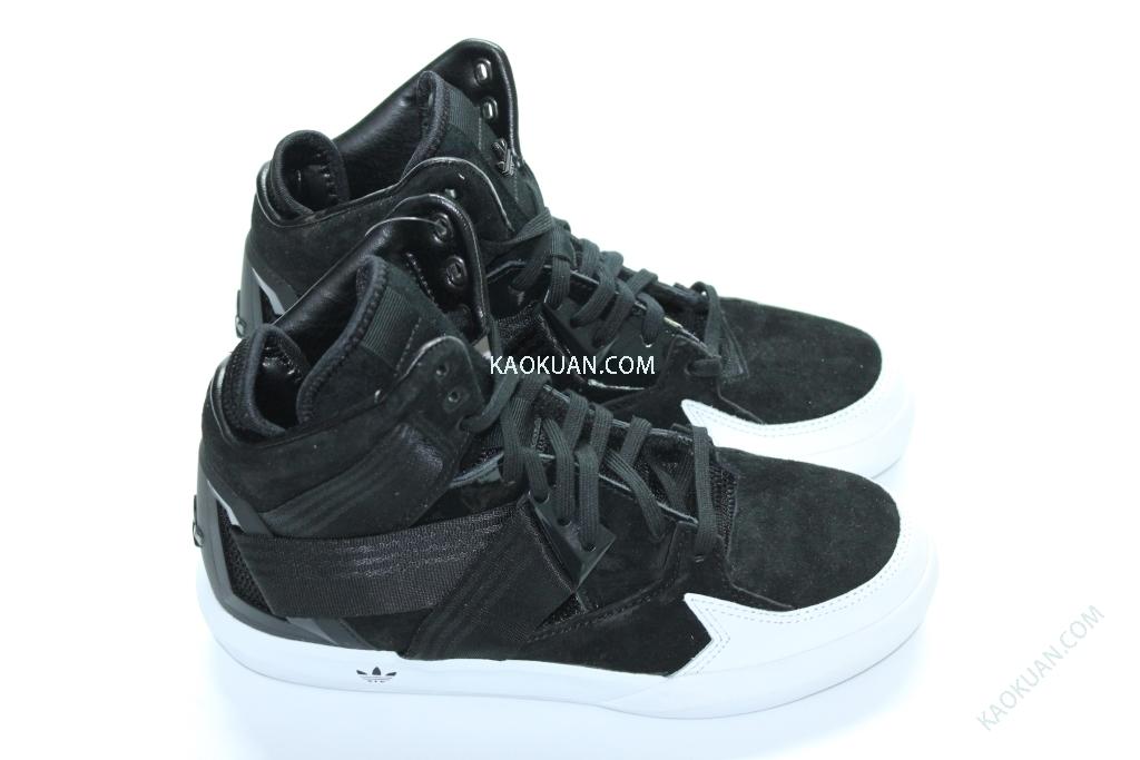 Adidas Originals C-10 休閒鞋 高桶鞋 LOGO 女鞋 黑 白 C75460