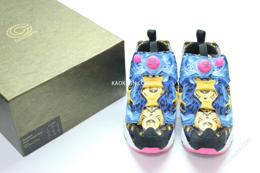 CONCEPTS REEBOK INSTA PUMP FURY OG 印花 海神 圖騰 M42930 特殊盒