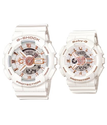 G-SHOCK 腕錶 天使惡魔 情人 對錶 系列 LOV-14A-7A 情侶 組 2014 年款