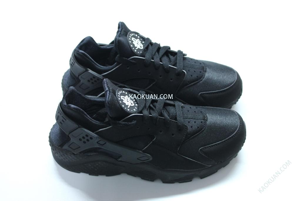 現貨 NIKE AIR HUARACHE 全黑 黑武士 忍者鞋 慢跑鞋 318429-003