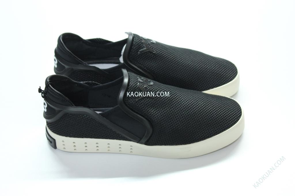ADIDAS Y-3 Y3 山本耀司 Laver Slip On 黑 白 至尊 懶人鞋 B35664