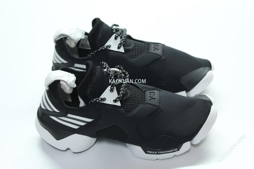 Adidas Y-3 KOHNA 2015 運動鞋 Y3 黑白 B26257