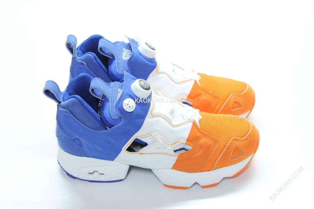 Packer Shoes x SNS x Reebok Insta Pump 藍 白 橘 V63454