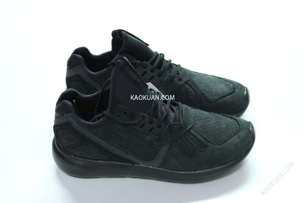 Adidas Tubular Runner Black Y-3 平民版 黑武士 惡魔 麂皮 B24261