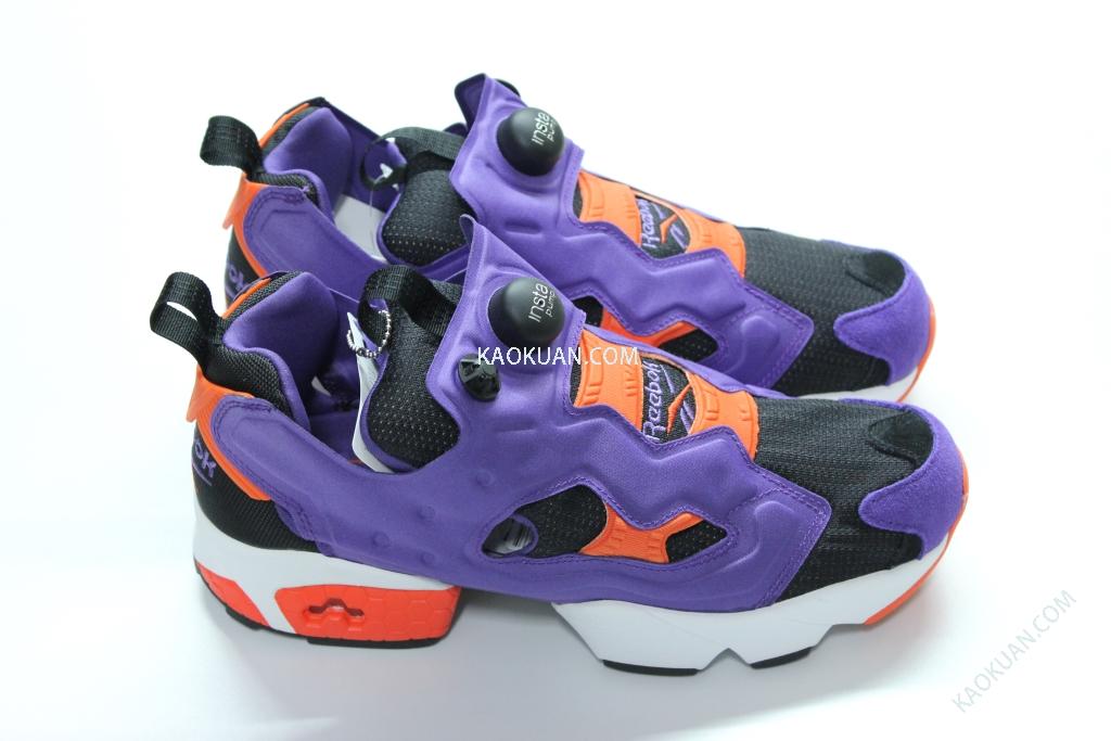 Reebok INSTA PUMP FURY OG M46894 紫 橘 充氣 慢跑鞋 男鞋