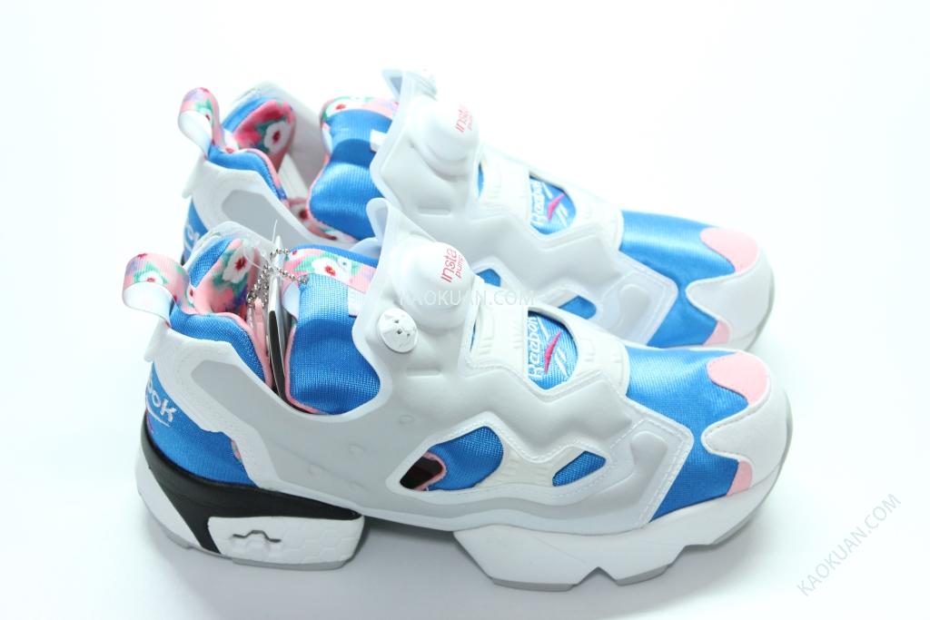 REEBOK INSTA PUMP FURY OG SHARON 韓國限定 木槿花 銀灰 女鞋 V62596