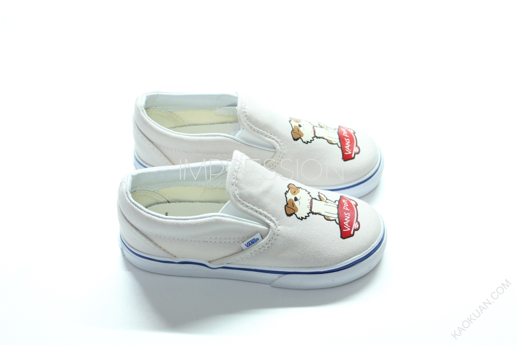 VANS X TAKASHI MURAKAMI SLIP ON LX 狗 村上隆 現貨 童鞋