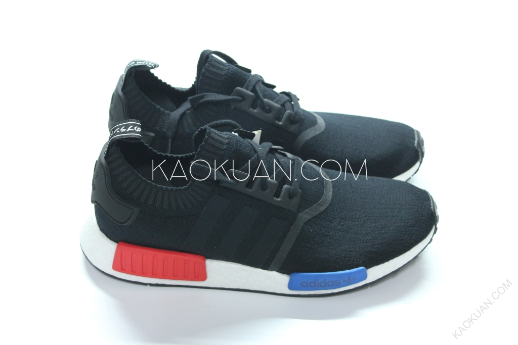 ADIDAS ORIGINALS NMD RUNNER PK BOOST 黑 藍 白 S79168