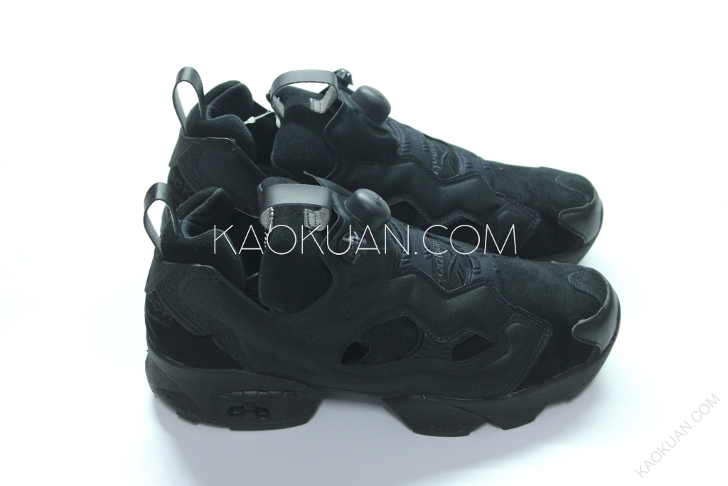 REEBOK PUMP FURY OG BEAUTY & YOUTH B&Y 聯名 全黑 AQ9342
