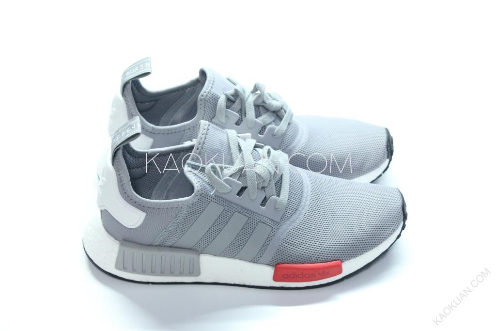 Adidas NMD RUNNER 灰色 紅色塊 灰白 網布 余文樂 慢跑鞋 男鞋 S79160
