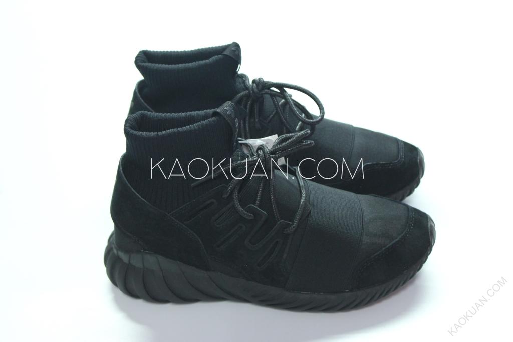 Adidas Tubular Doom 全黑 黑底 襪套 武士鞋 Y3 繃帶 S74794