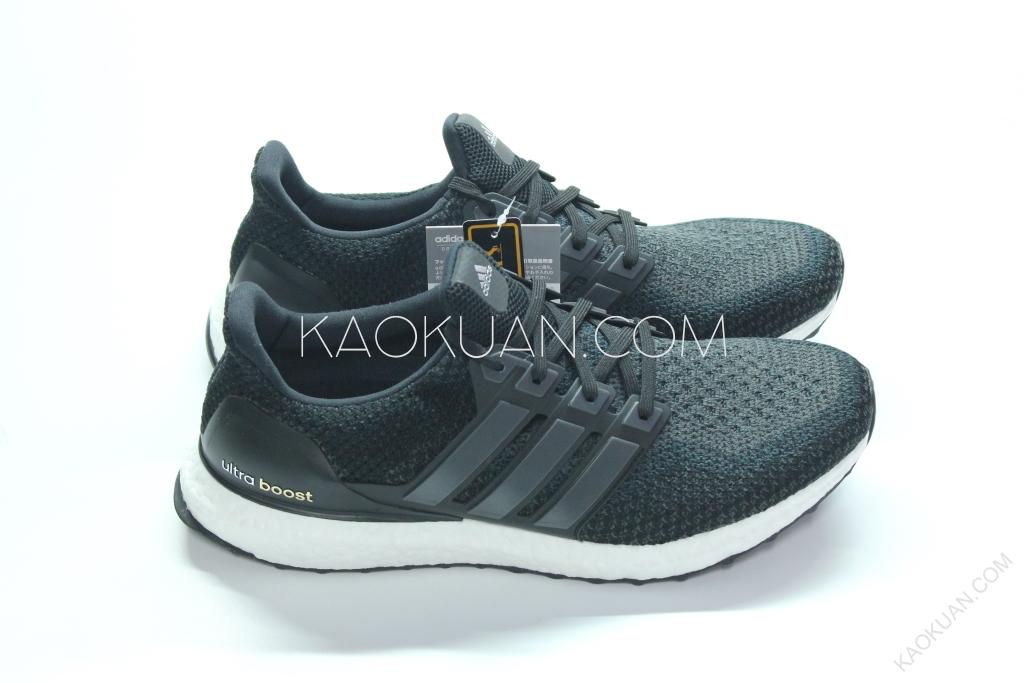 Adidas Ultra Boost 黑 白 深灰 漸層 配色 輕量 德國馬牌 男鞋 BB3909