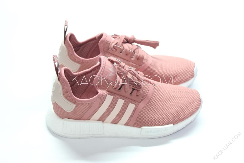 Adidas NMD R1 W 櫻花 粉 紅 配色 輕量 慢跑 女鞋 限量款 S76006