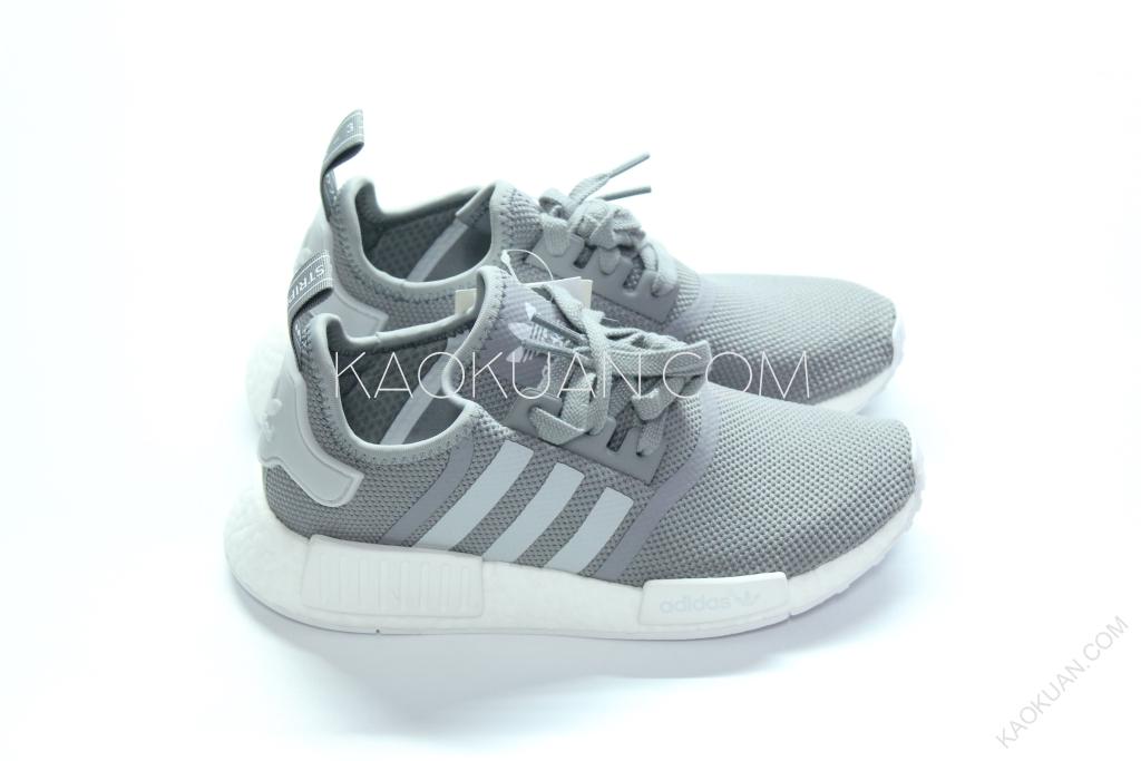 Adidas NMD R1 灰 白 運動鞋 S31503