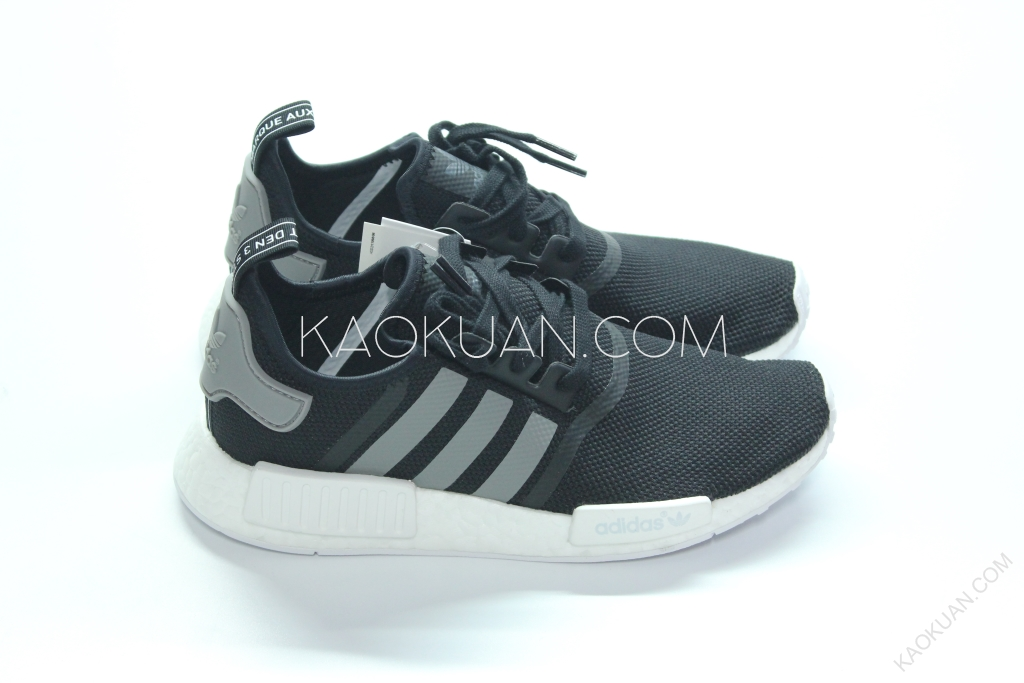 Adidas Originals NMD Runner R1 黑 白 灰 慢跑鞋 S31504
