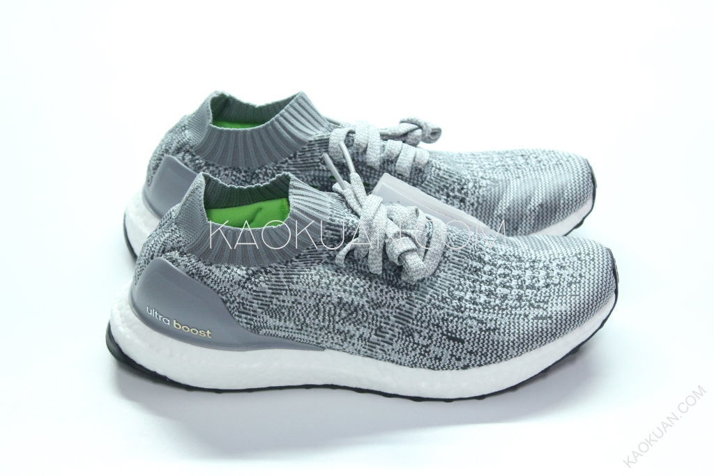 Adidas Ultra Boost Uncaged 灰 白 雪花 編織 襪套 馬牌 BB3898