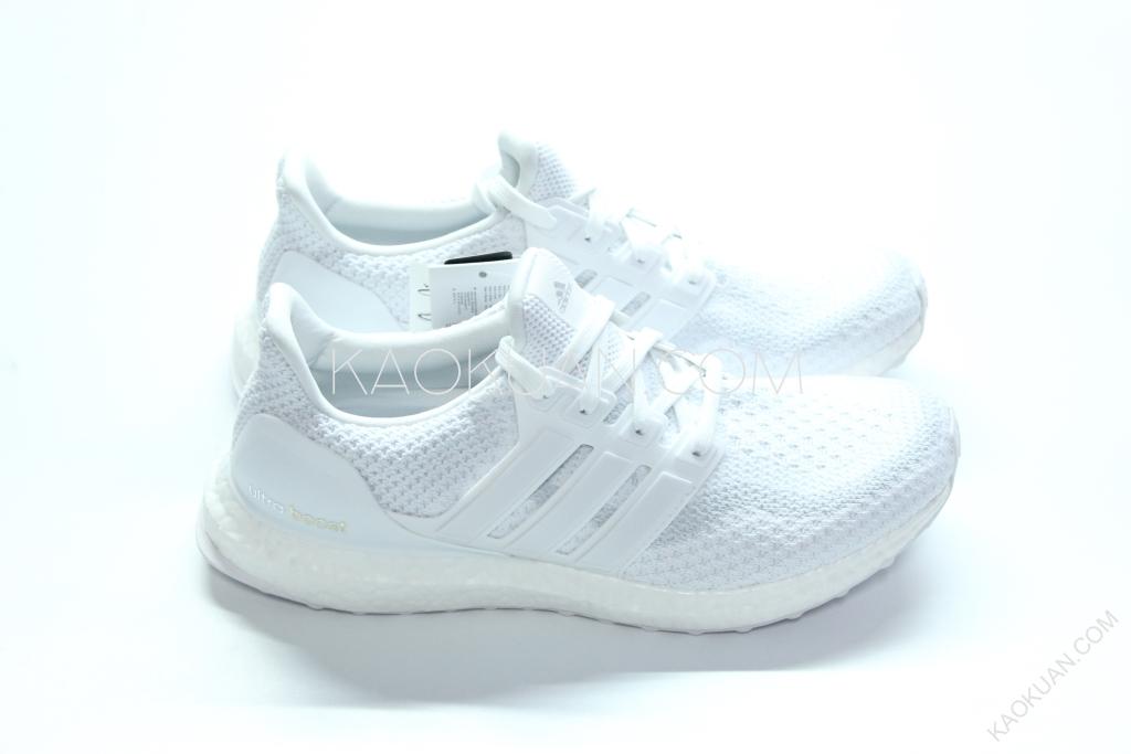 Adidas Ultra Boost Triple White 馬牌底 全白 慢跑鞋 男女鞋 AQ5929
