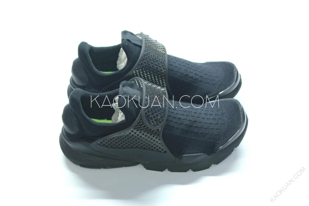 Nike Sock Dart 藤原浩 全黑 黑底 黑魂 襪套 慢跑 平民版 819686-001