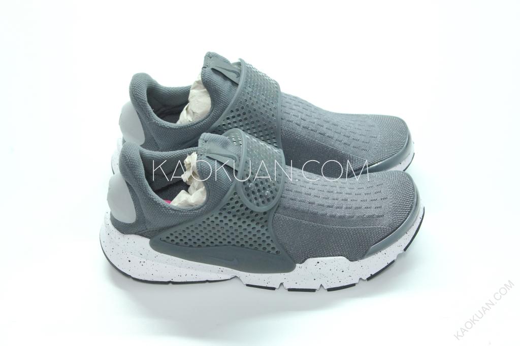 NIKE SOCK DART Wolf Grey 深灰 灰 潑墨底 襪套 男女鞋 跑鞋 819686-003