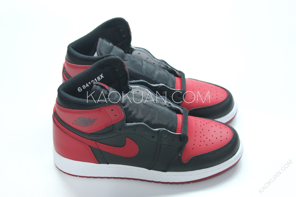Air Jordan 1 Retro High OG BANNED GS 禁穿 黑紅 575441-001
