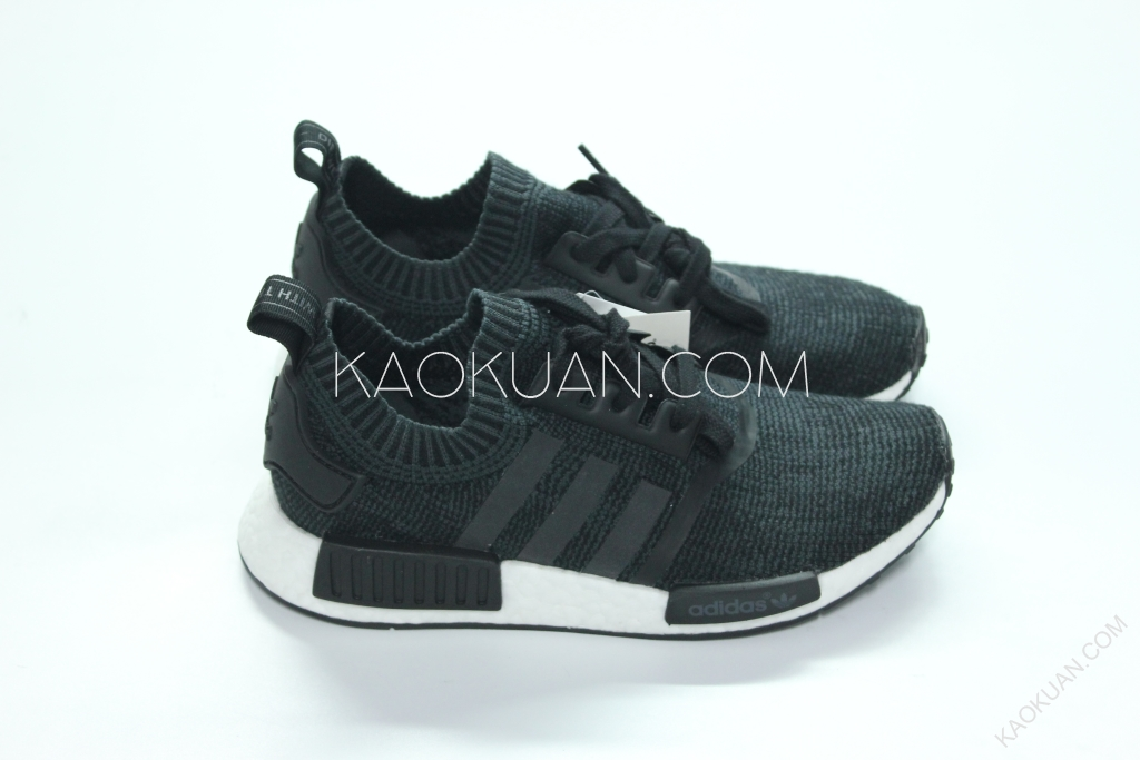 現貨 Adidas NMD R1 PK Winter Wool 針織 羊毛 黑 白 限量 BB0679