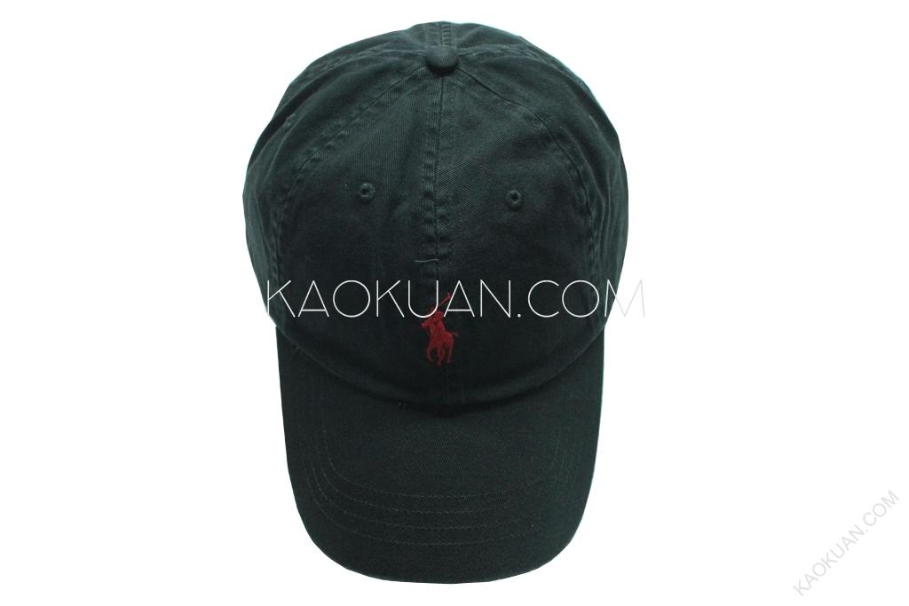 POLO RALPH LAUREN 電繡 Logo 撞色 復古 小馬 老帽 彎帽 現貨 3色 黑色/深藍/白色