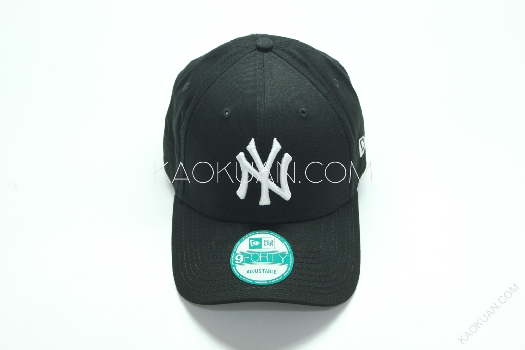 New Era 9Forty NY Cap 老帽 棒球帽 黑 白 刺繡 洋基 紐約 10531941