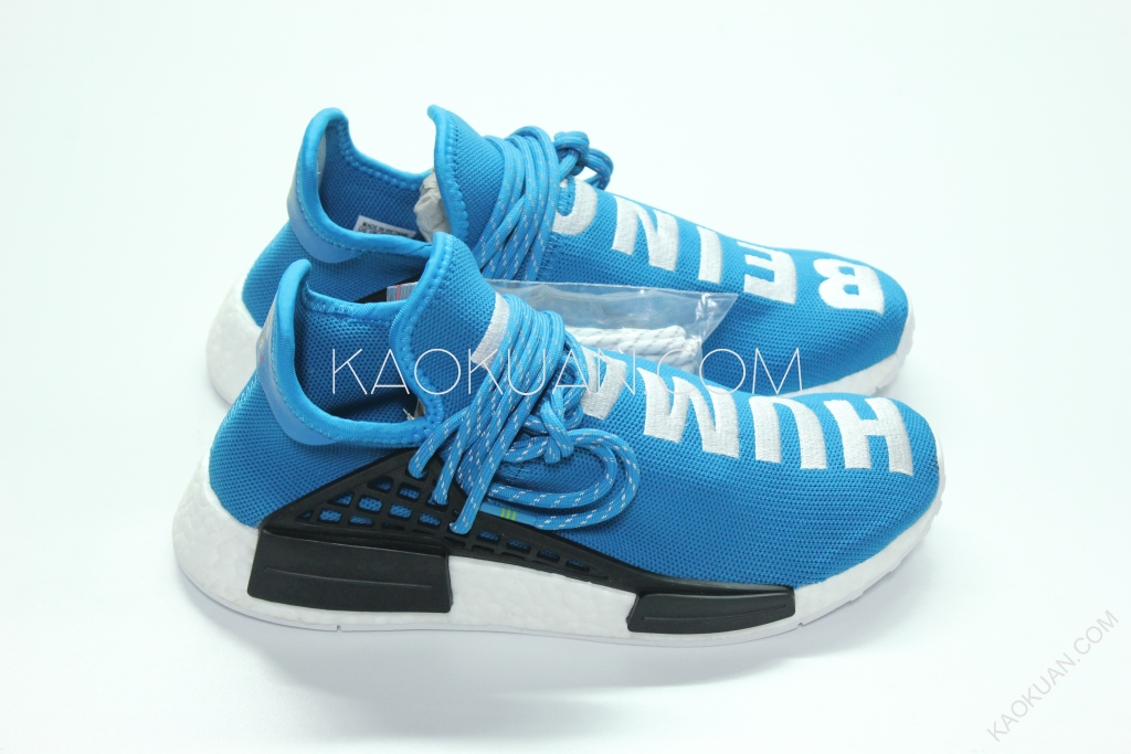 Adidas Pharell Williams PW Human Race NMD 藍色 菲董 BB0618