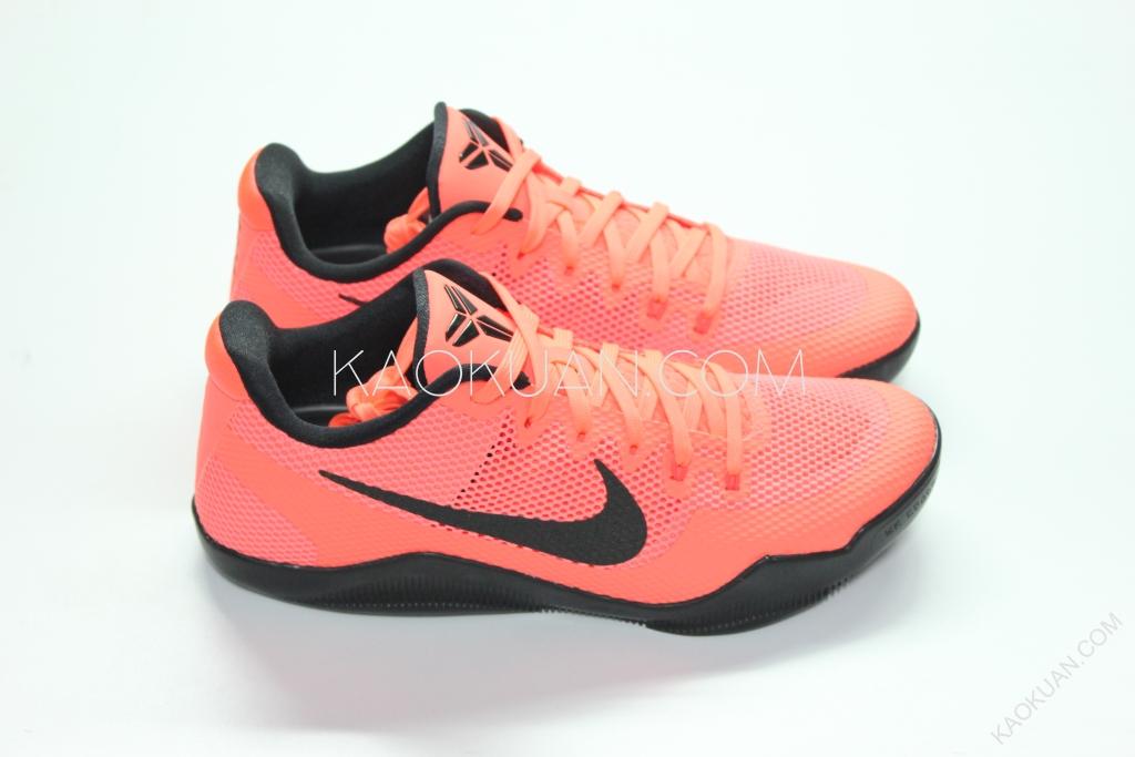 Nike Kobe XI 11 Low 紅色 黑勾 精英版 黑曼巴 巴塞隆納 配色 836183-806