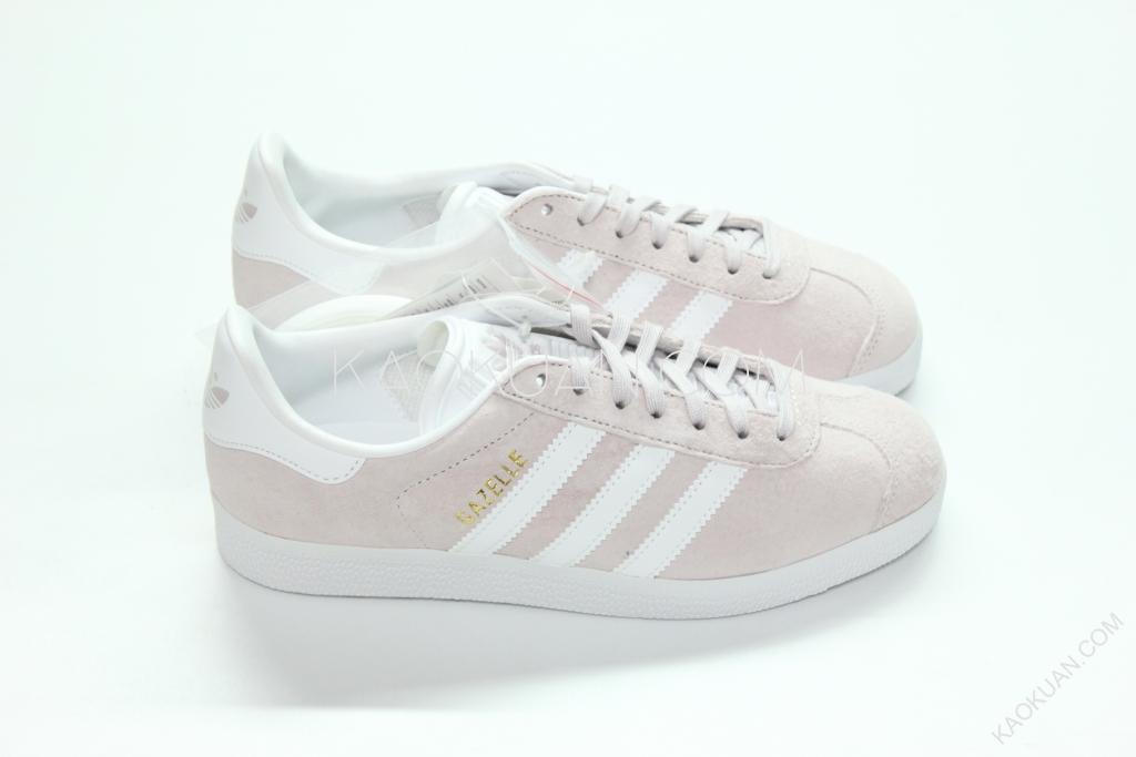 Adidas Originals Gazelle 水原希子 麂皮 粉 紫 燙金 休閒鞋 復古 BB5482