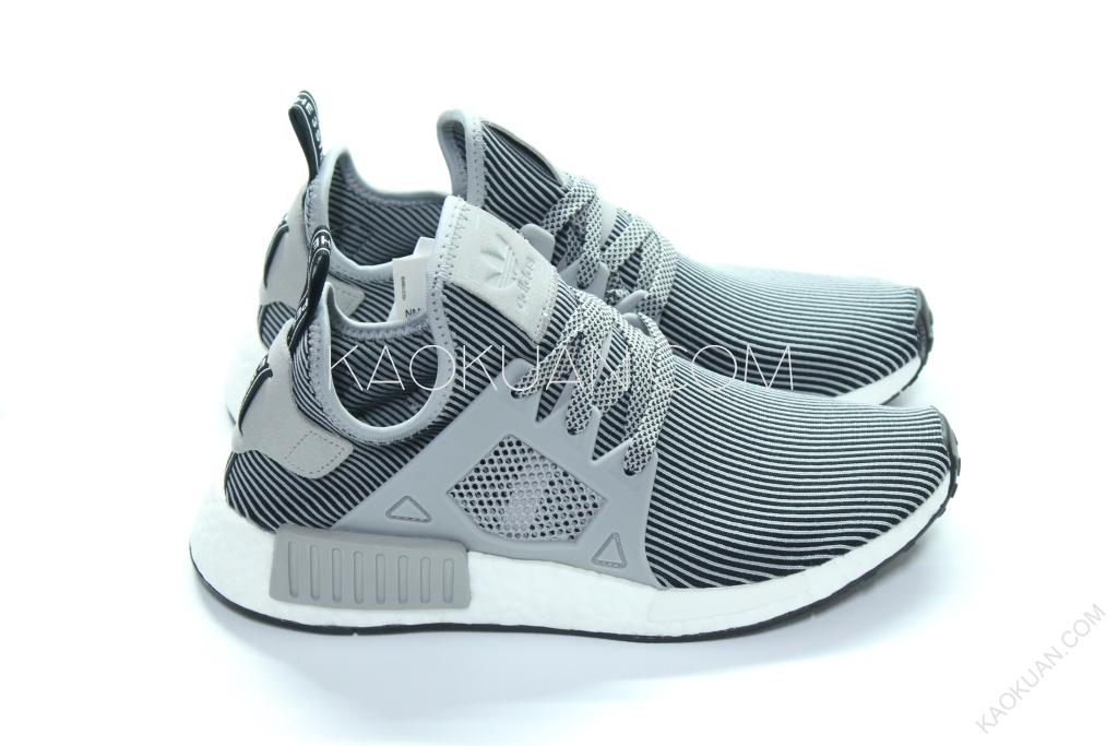Adidas Originals NMD XR1 灰白 黑 條紋 線條 慢跑鞋 S32218