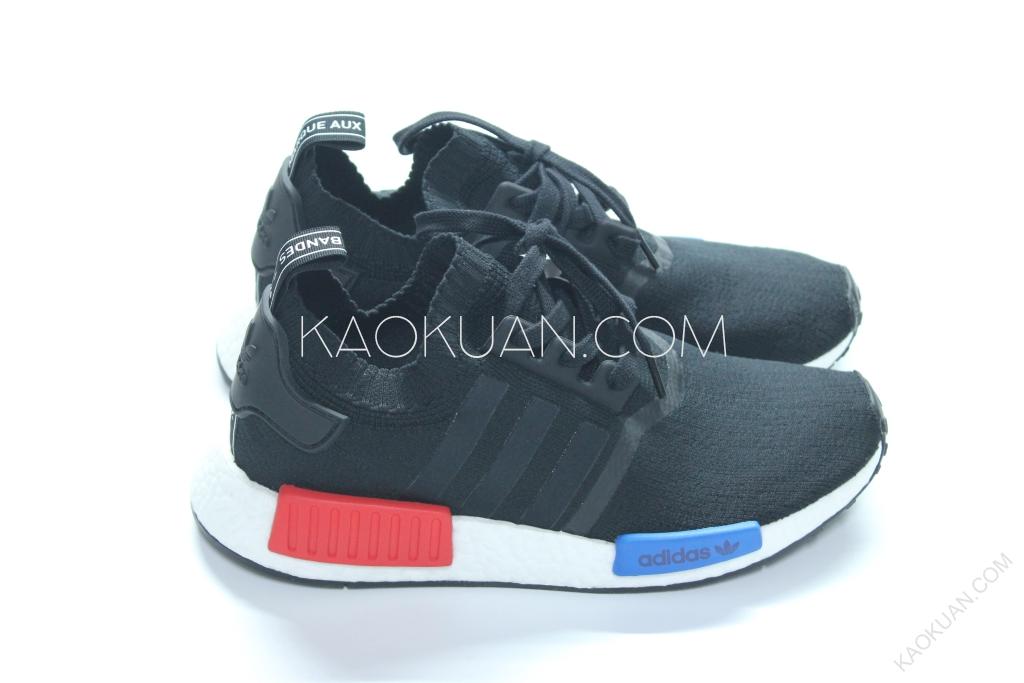 Adidas NMD runner PK OG 黑 紅 藍 初代 經典 配色 S79168
