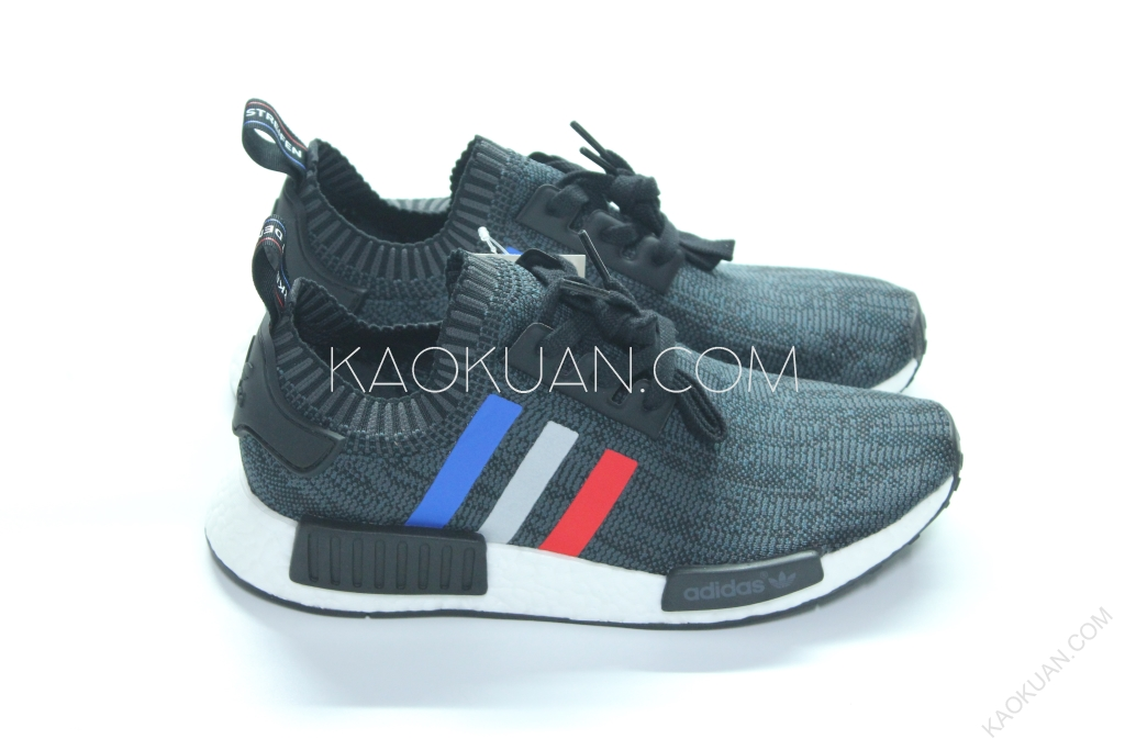 Adidas Originals NMD PK Tri Color 雪花 藍 白 紅 BMW BB2887
