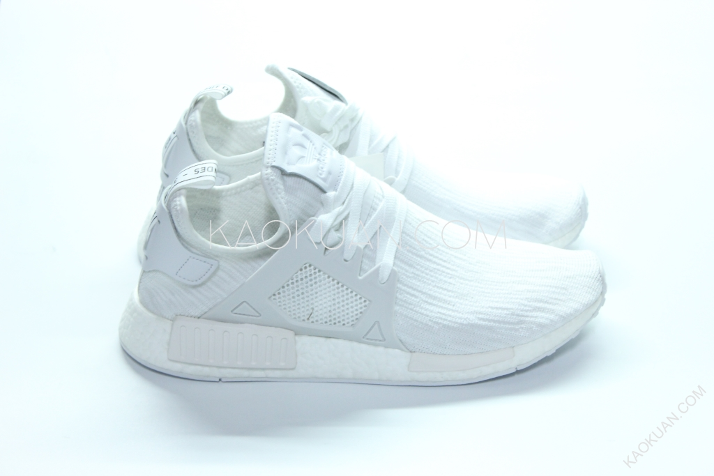 Adidas Originals NMD XR1 PK 編織 全白 雪花 輕量 慢跑鞋 BB1967