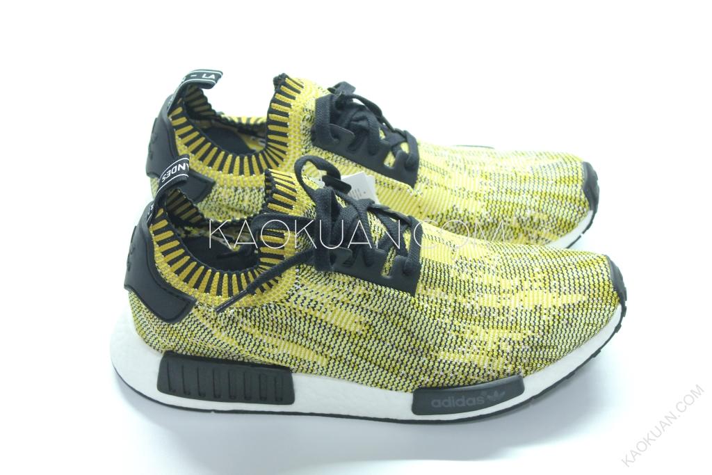 Adidas NMD Runner PK Yellow 金 黃 黑 迷彩 雪花 編織 S42131