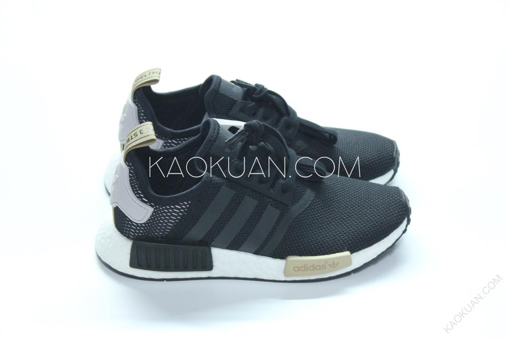 ADIDAS NMD R1 W 黑 白 黃 卡其 反光 牛奶糖 慢跑鞋 男 女 鞋 BA7751