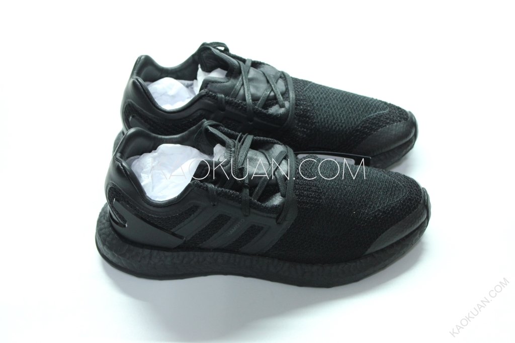Adidas Y-3 Pure Boost Triple Black 山本耀司 編織 全黑 CP9890
