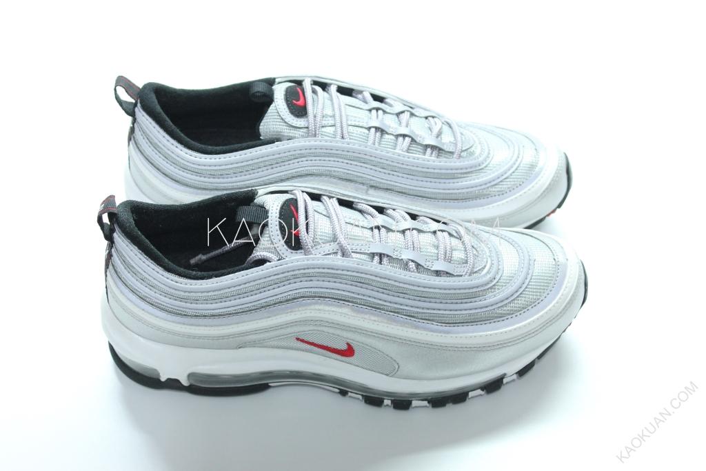 Nike Air Max 97 OG Silver 3M 原版配色 反光 銀彈 氣墊 884421-001