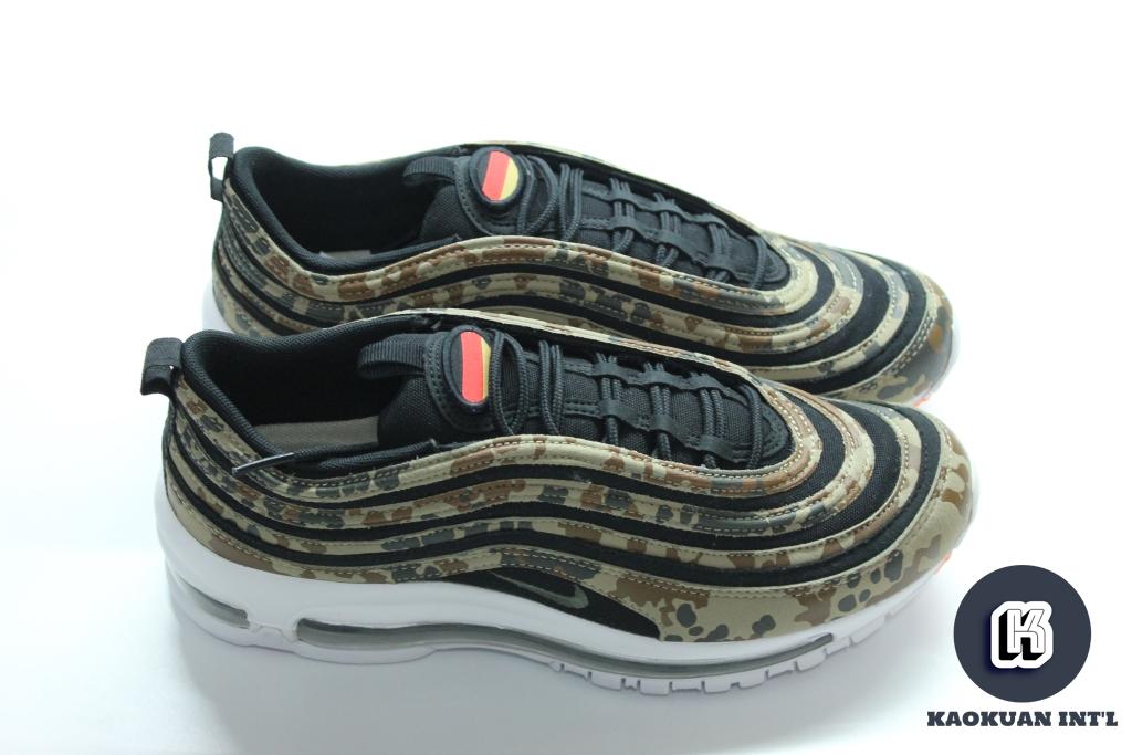 Nike Air Max 97 PREMIUM QS 氣墊 慢跑鞋 德國 迷彩 限量 AJ2614-204